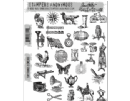 CMS305 Tim Holtz Cling Mounted Stamp Set - Tiny Things 2
